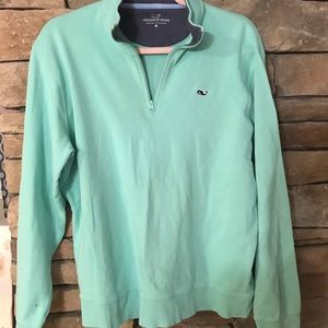 Vineyard Vines half zip sweatshirt, women's